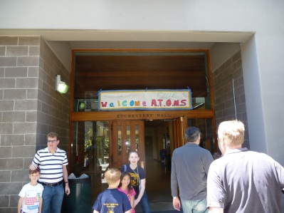 Arriving at Etcheverry Hall for the Nuclear Engineering Field Trip at UC Berkeley